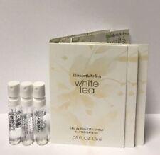 3 Elizabeth Arden White Tea EDT 0.05 oz/1.5 ml Spray Sample Vial for Women