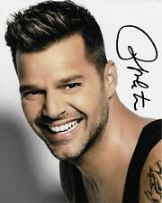 Living the Vida Loca Ricky Martin Autographed 8x10 Photo (Reproduction) 3