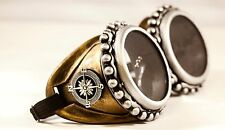 Steampunk goggles mad max welding diesel punk biker goth cosplay rave party gift