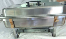 Bakers & Chefs Chafing Dish Stainless Steel 8 Qt.