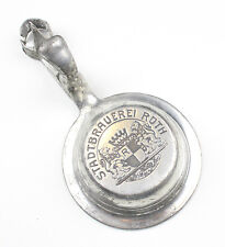Antichi Coperchio stagno per Boccale birra Birreria in città Roth (1)
