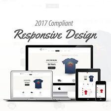 2017 Compliant Premium Responsive Ebay Auction Listing Template T-shirt Design