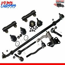 12pc Complete Kit Tie Rod Ends Idler Arm Ball Joints For Nissan D21 Pickup 86-97