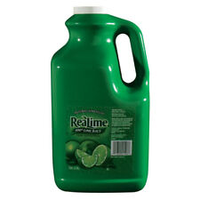 ReaLime 100% Lime Juice 1 Gallon Bottle - 2 Pack