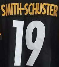 64e64ce7ee6 JUJU SMITH SCHUSTER Pittsburgh Steelers #19 jersey NEW! all stitch DMR  PATCH! XL