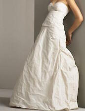 NICOLE MILLER MIA TAFFETA BRIDAL WEDDING DRESS GOWN 8 $1600 HG0013
