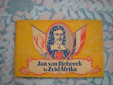 """Rare Collectible comic book: De avonturen van """"Kapitein Rob"""" Jan vanRiebeeck in"""