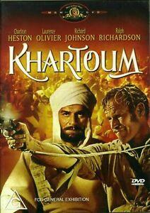 KHARTOUM DVD CHARLTON HESTON REGION 4 NEW AND SEALED