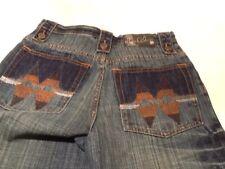 Makaveli Branded Boys Denim Blue Jeans Med. Dark Wash Size 14