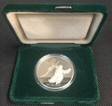 Calgary 1988 Olympic Winter Games Silver $20 Coin Hockey Goalie Presentation Box