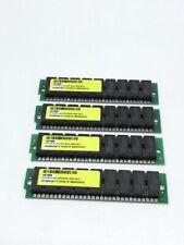 4 Pack (4 x 4MB) 30 Pin SIMM 60ns 5V FPM Parity Memory 16MB Apple IBM Compaq Sun