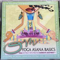 Julie Friar: Yoga CD: Asana Basics: A Guide To Practicing Yoga Safely