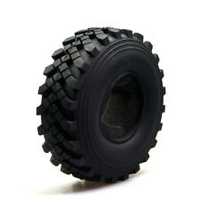 "1pc 2.2"" Rubber Rock Tire tyre 40mm For Axial Wraith 2.2 Beadlock Wheel"