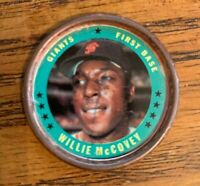 1971 Topps COINS #57 Willie McCovey - Giants