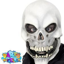 100% True Halloween Party Stretch Bone Skeleton Shape Masks Festival Fancy Dress Pirate Costume Accessories For Men Women Men's Accessories Men's Masks