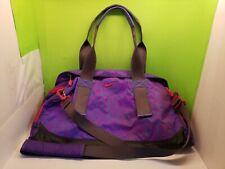 Nike Legend Shoulder Gym Travel Duffel Bag Purple/Blue/Red Nice - Free Shipping