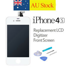 For iPhone 4S Replacement LCD Digitizer Front Screen Display Assembly White