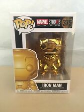 Marvel Studios 10th Anniversary Iron Man Gold Chrome Pop Vinyl Figure Funko 375