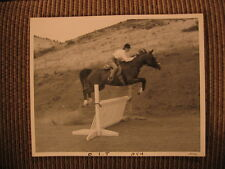 """Bint Rihani"" of Joder Arabian Ranch & Barbara Tignar up Orig 1950's Horse Photo"
