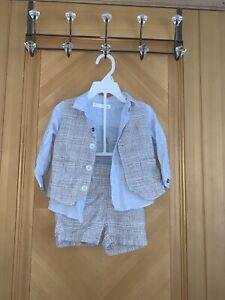 Boys Next Short Suit Set - 9-12 Months
