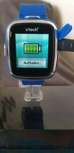 VTech Kidizoom Smart Watch 2- Blau, Kinderuhr, Gummiarmbanduhr