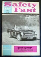 BMC Safety Fast MAGAZINE APRILE 1965 vol 7 n. 4.