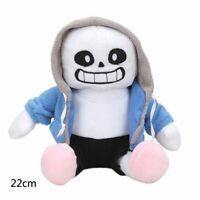 Undertale Sans Plush Stuffed Doll Toy Hugger Gift Cushion Cosplay Kids Gifts