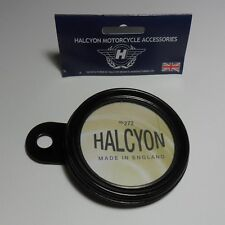 Halcyon Tax Disc Holder Black