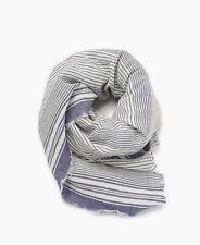 ESPRIT Schal Li Stripe Scarf Ink blau weiß NEU
