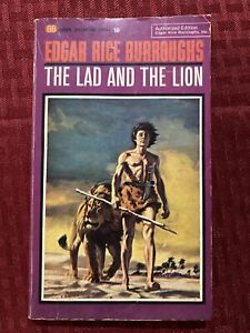 The Lad And The Lion By Edgar Rice Burroughs Ballantine U2048