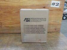 ASI 0457 Recessed Paper Towel Dispenser