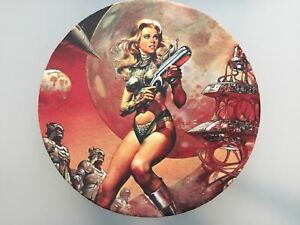 BARBARELLA JANE FONDA SCIENCE FICTION FILM - PC Office Mousepad Mouse Pad Mat.