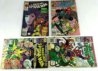 BD Comic VO  Amazing Spider Man N°309 et 336 a 338 1988 1990 Marvel  Envoi suivi