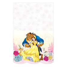 Beauty and the Beast Tablecover Belle Birthday Party Table Decodration Supplies