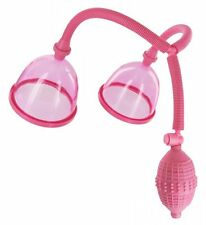 Breast Pump Suction Enlarger Pink Nipple Enhancer Boob Play Size Matters Kit