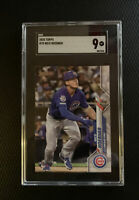 2020 Topps Series 1 Nico Hoerner #70 RC Rookie SGC 9 Mint Chicago Cubs