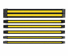 Thermaltake TtMod Sleeve Cable (Cable Extension)– Yellow/Black, AC-047-CN1NAN-A1