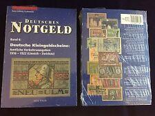 German Token, German small notes, Volume 5 (A-L) and 6 (L-Z) Grabowski