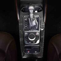 mit Keyless Go 12+ Carbon Dekor Mittelkonsole passend für Audi A3 S3 RS3 8V