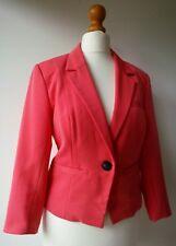ONLY BLAZER Jacket pink EU38 UK10 Excellent Condition