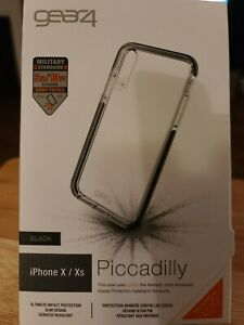 iPhone X/Xs Gear4 Piccadilly Clear Case.