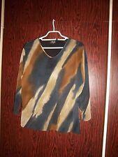 AG Shirt Batiklook  Größe 42  leicht transparent extravagant knitterfrei  PE