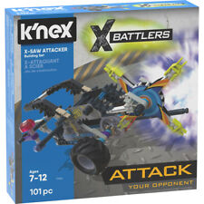 K'nex 17064 X-Battlers Building Set X-Saw Attacker 101 Pieces