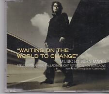 John Mayer-Waiting On The World cd single