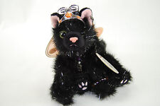 Aurora Catapillers Sabrina Rare Halloween Black Cat Plush - NWT