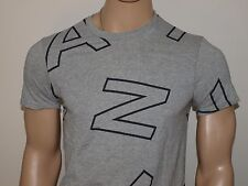Armani Exchange Authentic Allover Letters Slim Fit T-Shirt  NWT