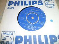 "Gunslinger b/w Wanted Man Frankie Laine 7"" Vinyl Single 1961 Philips PB.1135"