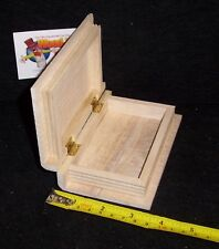 Book box - wooden, small