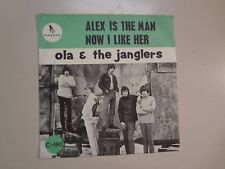 "OLA & THE JANGLERS:Alex Is The Man-Now I Like Her-Sweden 7"" 66 Gazell C- 190 PSL"