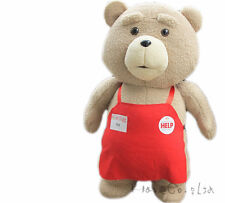 Ted Movie TED the Bear Plush Doll Toy Cute Teddy Pillow  Kid Gift